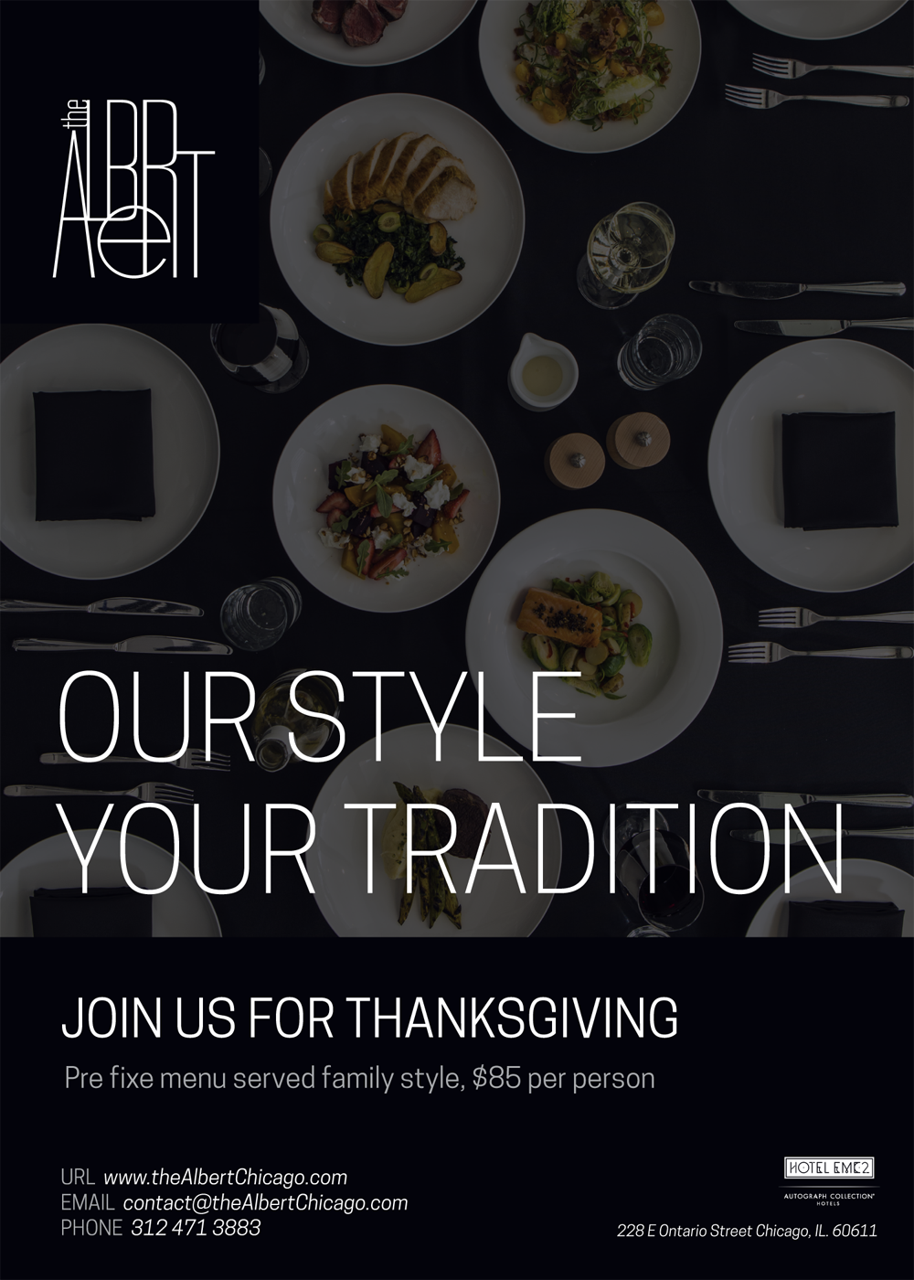 Thanksgiving at the Albert