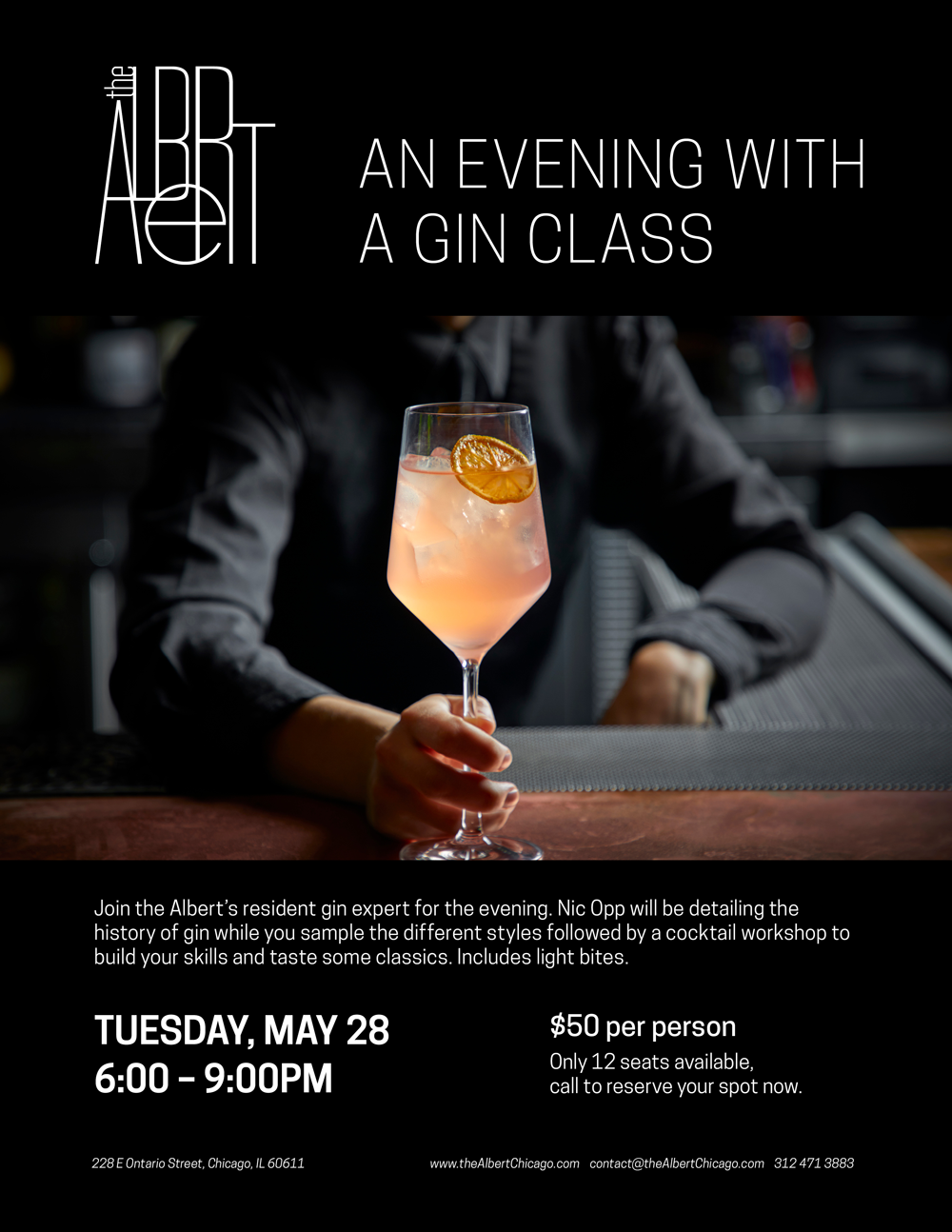 the Albert Gin Class May 28