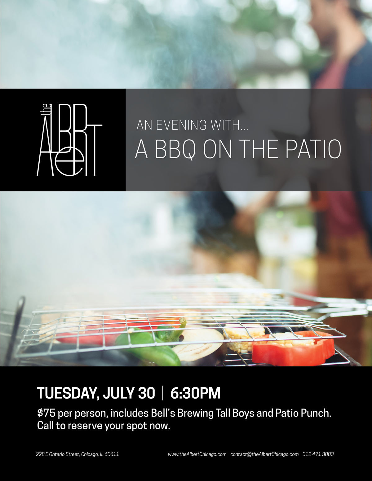 the Albert BBQ on the Patio